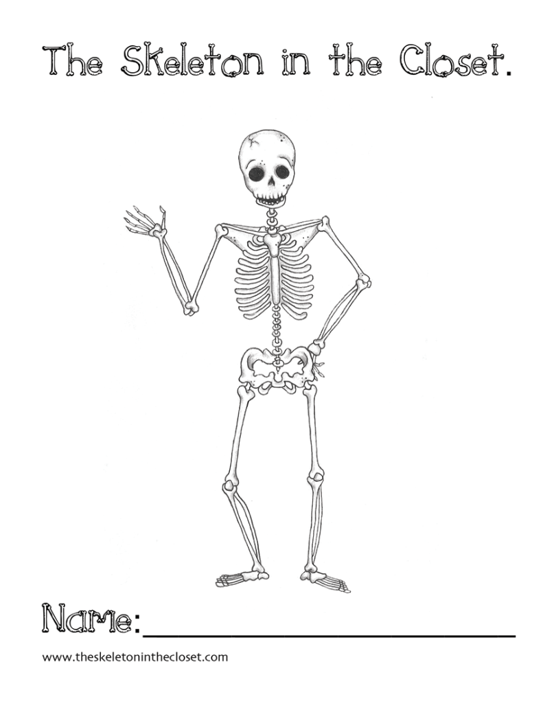 free Halloween coloring sheet