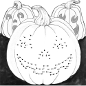 Connect the Dots & Carve your Pumpkin!